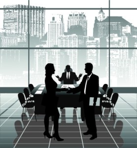 vector_silhouettes_of_office_work_set_531750